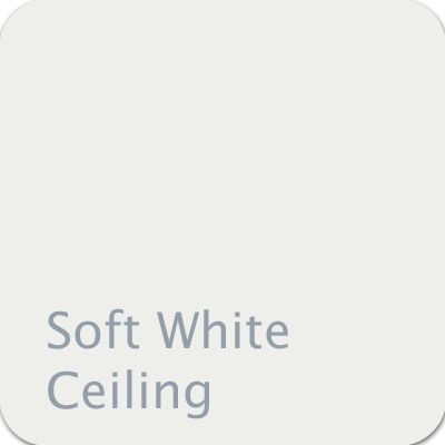 Dutch Boy Color Soft White Ceiling