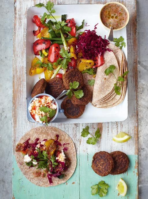 Falafel Recipe | Vegetables Recipes | Jamie Oliver Recipes