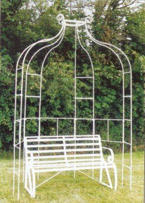 Remarkable Garden Arbour Wrought Iron Garden Arch Verdigris Squirreltailoven Fun Painted Chair Ideas Images Squirreltailovenorg