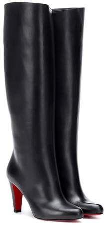 cd024fa53ad Christian Louboutin Marmara Botta 85 leather boots | Christian ...