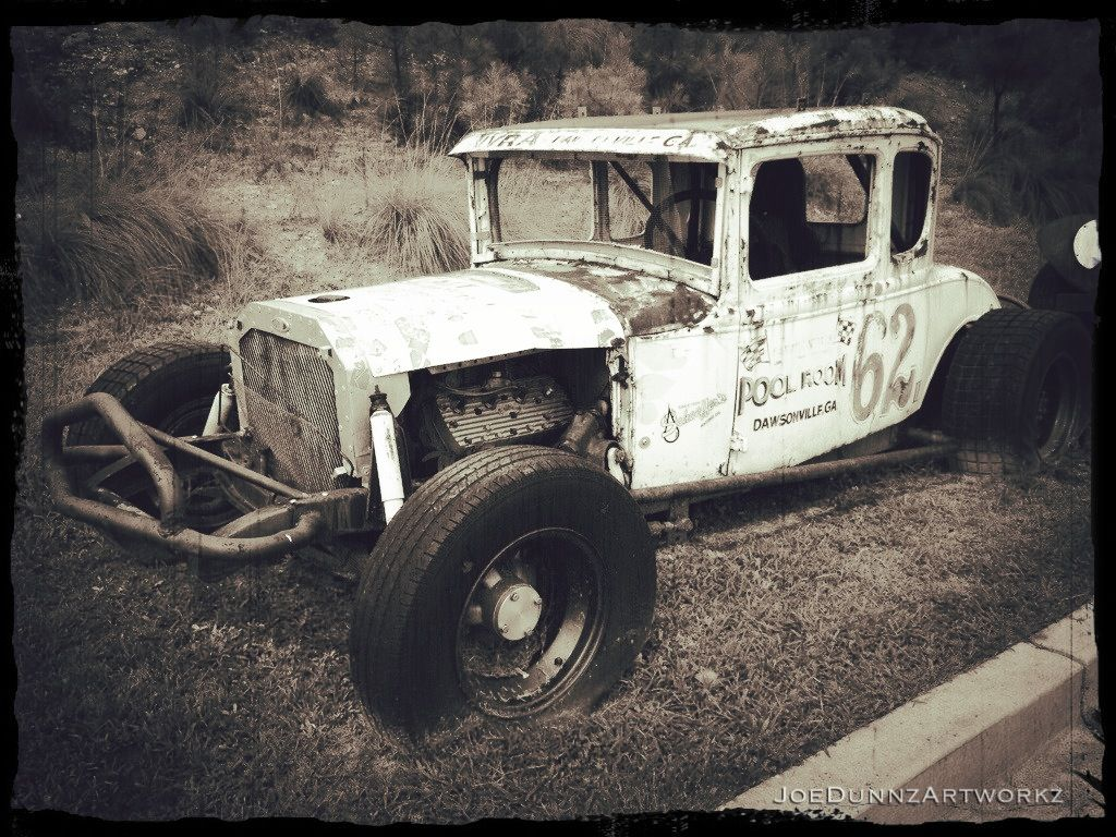 Vintage race car my photography pinterest vintage for Dirt track garage