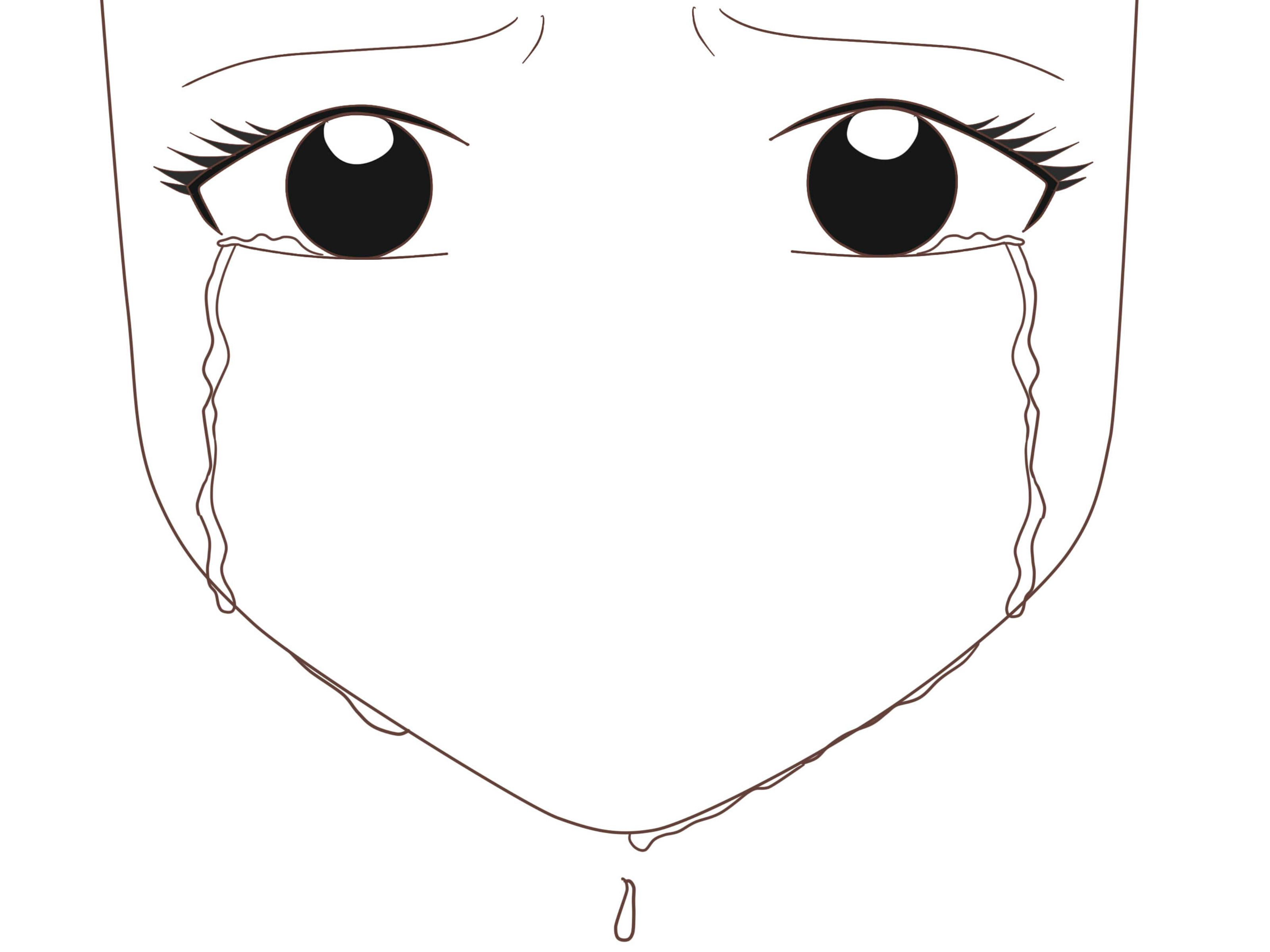 How To Draw An Anime Eye Crying How To Draw Anime Eyes Anime
