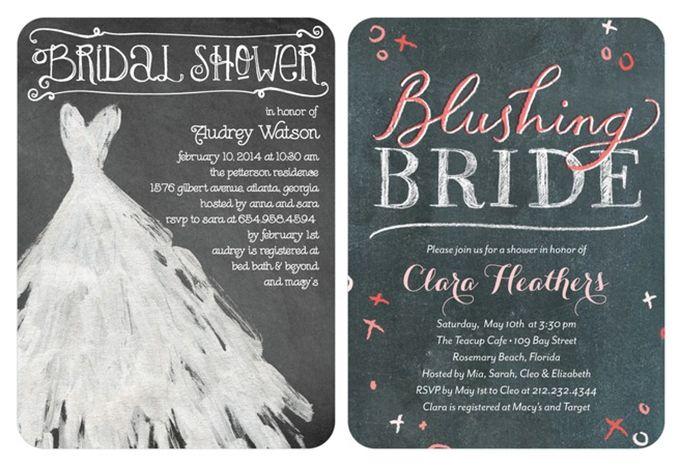 Wedding Diva Invitations: Bridal Shower Invitations From Wedding Paper Divas