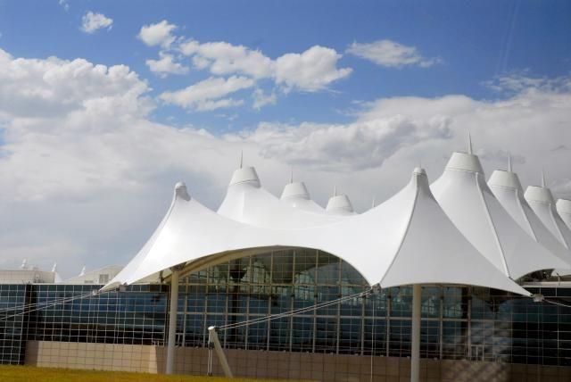 Superb Denver Airport, Colorado Http://architecture.about.com/od/