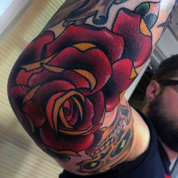 Top 87 Elbow Tattoo Ideas 2020 Inspiration Guide | Elbow ...