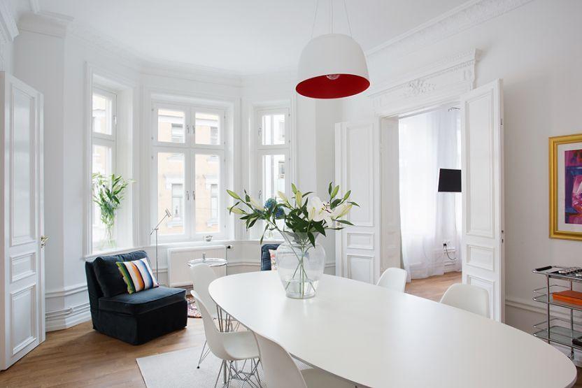 Un interior elegante pisos paises nórdicos pisos grandes decoración