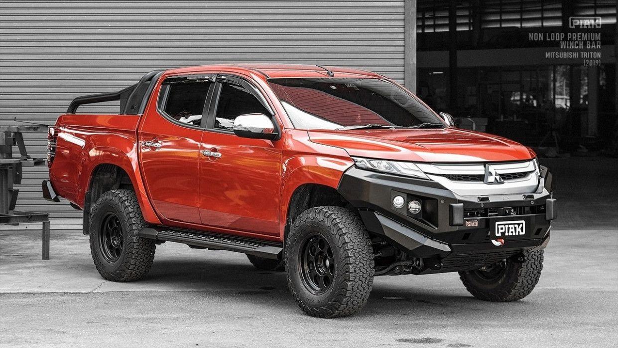 2020 Mitsubishi Triton Bullbar In 2020 New Cars Triton 4x4 Triton