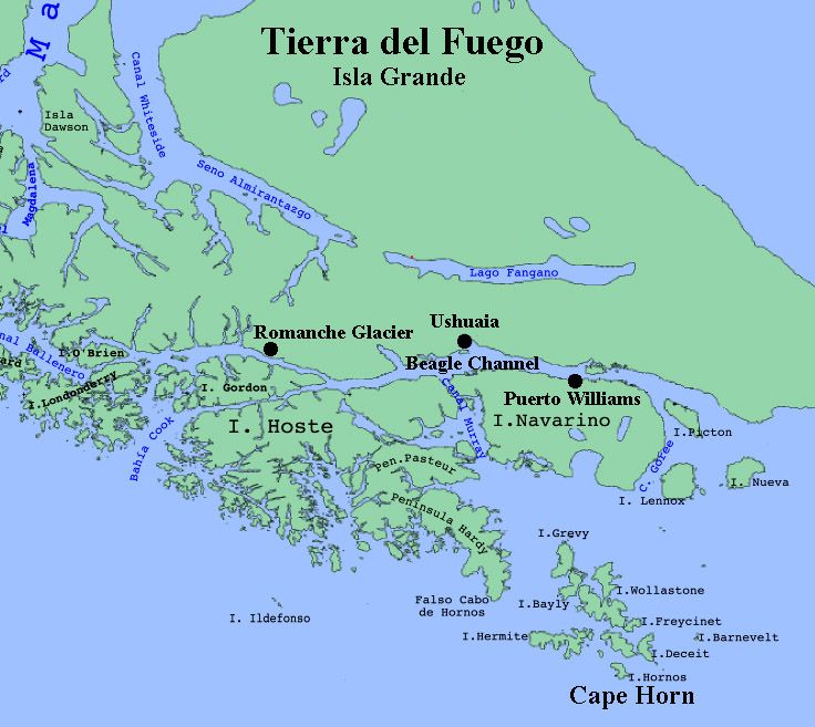 Beagle Channel World Cruise Beagle Channel