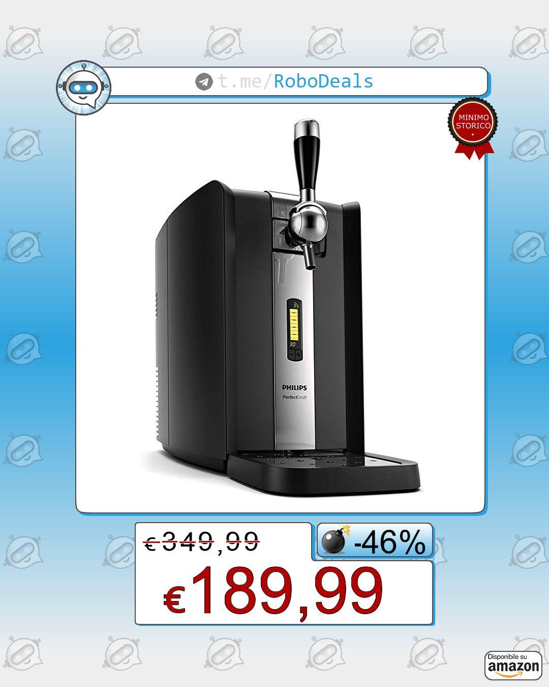 Philips Perfect Draft HD3720//25 Sistema Domestico di Erogazione della Birra