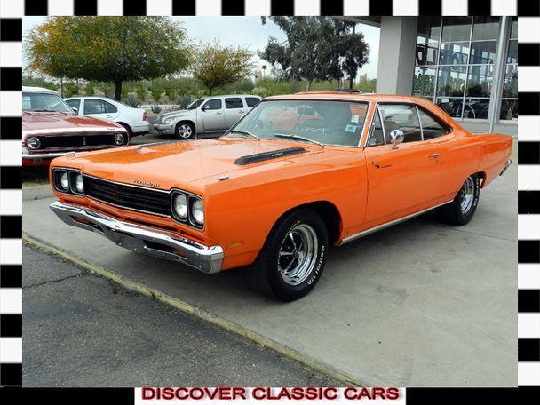 1969 Plymouth Roadrunner 426 Hemi, #6 fastest car of 60's