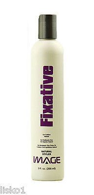 Image Fixative Natural Gel Styler For Frizzydry Hair Straight