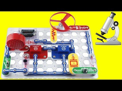 learn how to make electronics with the snap circuit junior rh pinterest com snap circuits sc 300 youtube snap circuits jr. sc-100 youtube