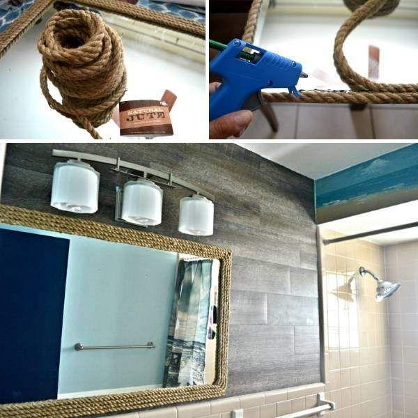 20 schöne Dekoideen fürs Badezimmer   Diy bastelideen ...