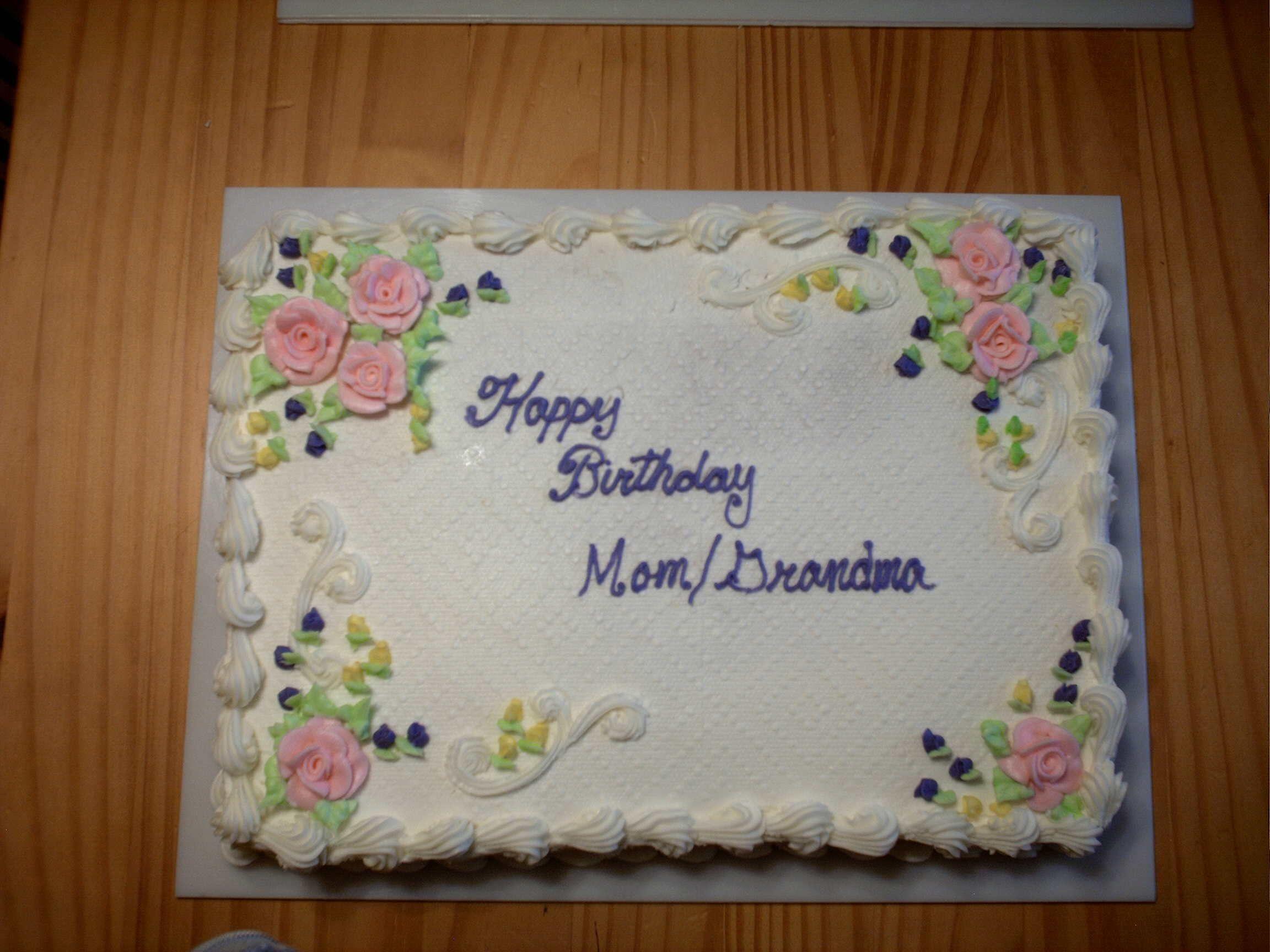Grandma Birthday Cake Cake Pinterest