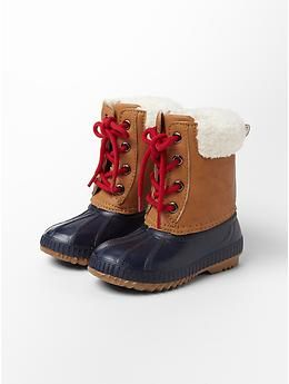 d1c516998 Sherpa snow boots | Gap | Wee Ones | Toddler snow boots, Toddler ...