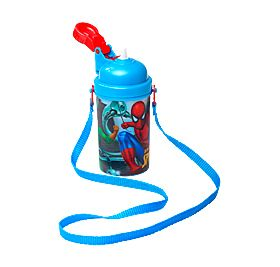 The sling on our Spider-Man waterbottle makes this the perfect accessory for your little boy's next school outing. #BackToSchool