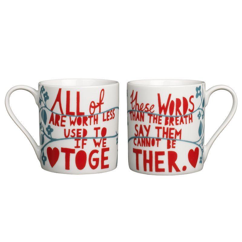 Rob Ryan Mug Set from John Lewis