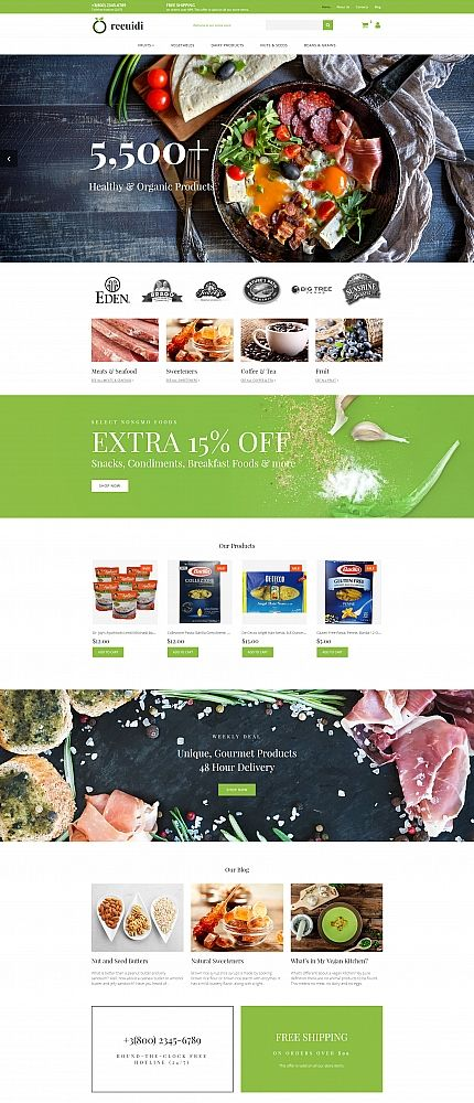 grocery store template ecommerce templates pinterest template