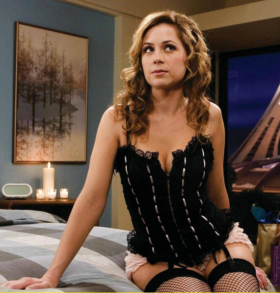 Jenna fischer lingerie