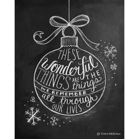 Wonderful Things Ornament - Print