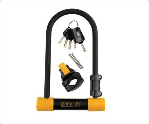 Onguard 8010 Bulldog Standard U Lock White Beams Key Projects