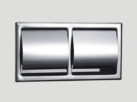 Double Roll Recessed Toilet Paper Holder 5801