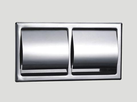 Bathroom Fixtures Toilet Paper Holder double roll recessed toilet paper holder 5801 | hotel collection
