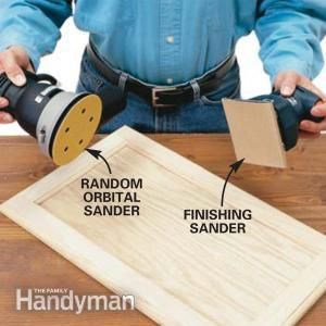 The Best Sander For Finishing Cabinets Sanding Wood It Is Finished Finish Kitchen Cabinets