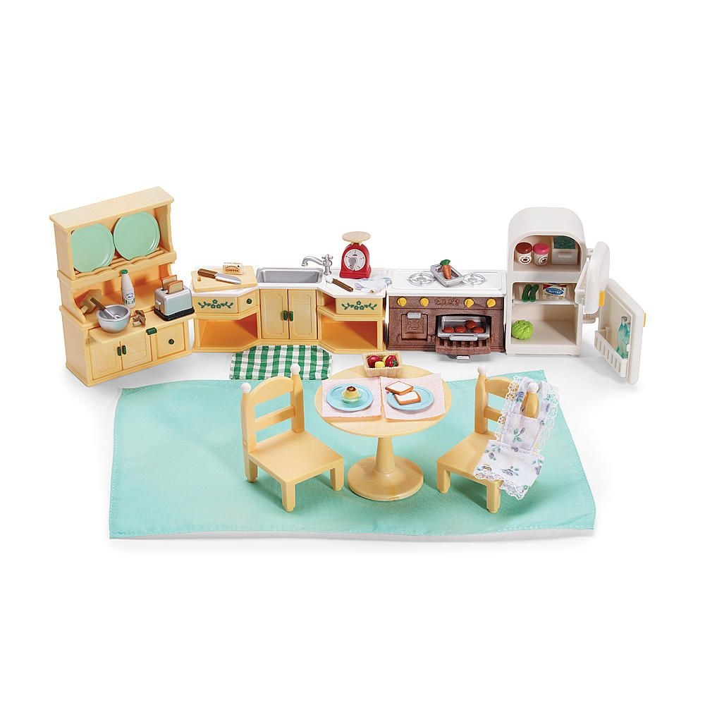Calico Critters Kitchen Set & Accessories (Colors/Styles Vary ...