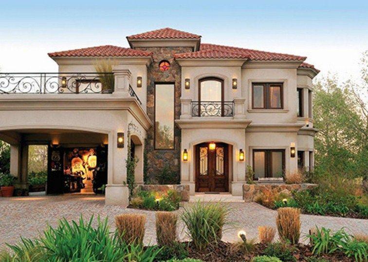 Fachadas con estilo casas lujosas pinterest house - Fachadas clasicas ...