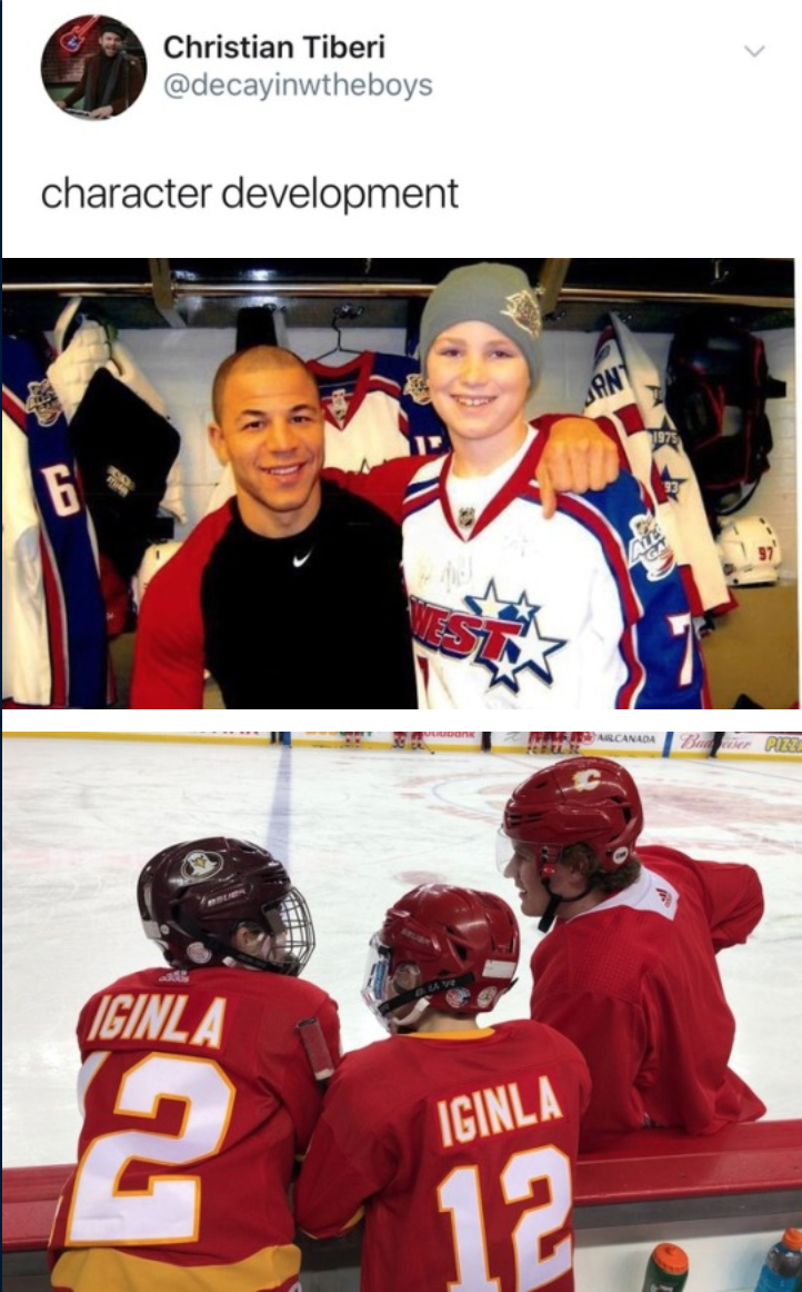 Pin By Catherine On That S Hockey Baby With Images Sports Humor Character Development Sports