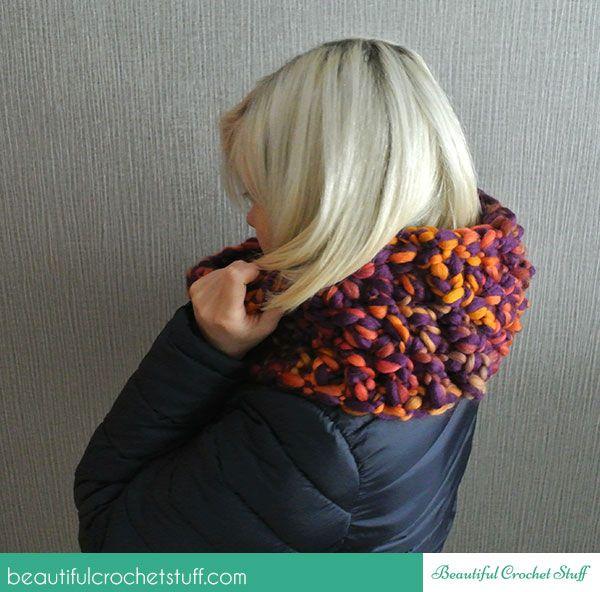 Finger Crochet Scarf ~ Jane Green - Beautiful Crochet Stuff | SCARFS ...