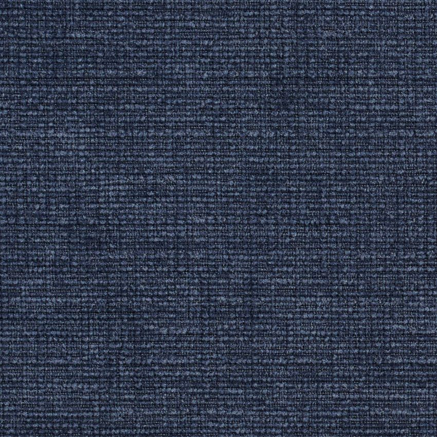 Dark Blue Solid Soft Chenille Upholstery Fabric Dark