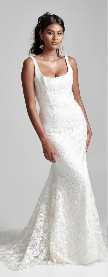 42++ Scoop neck wedding dress info