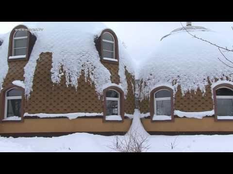 Купольный дом архитектора Гребнева. - YouTube   Дом ...