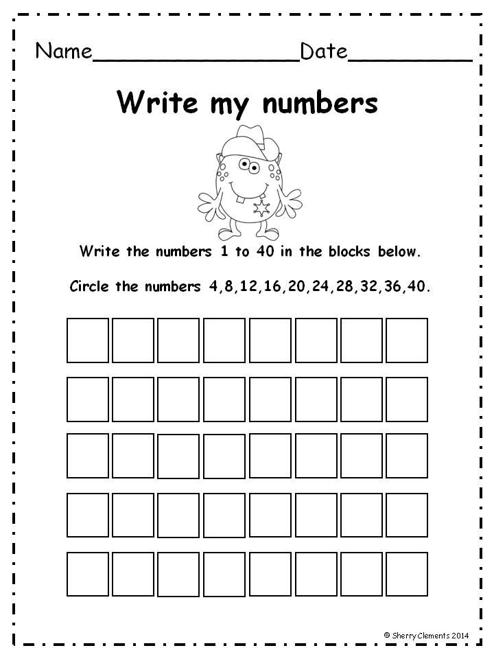 Number Writing 1 50 Distance Learning Writing Numbers Writing Numbers 1 100
