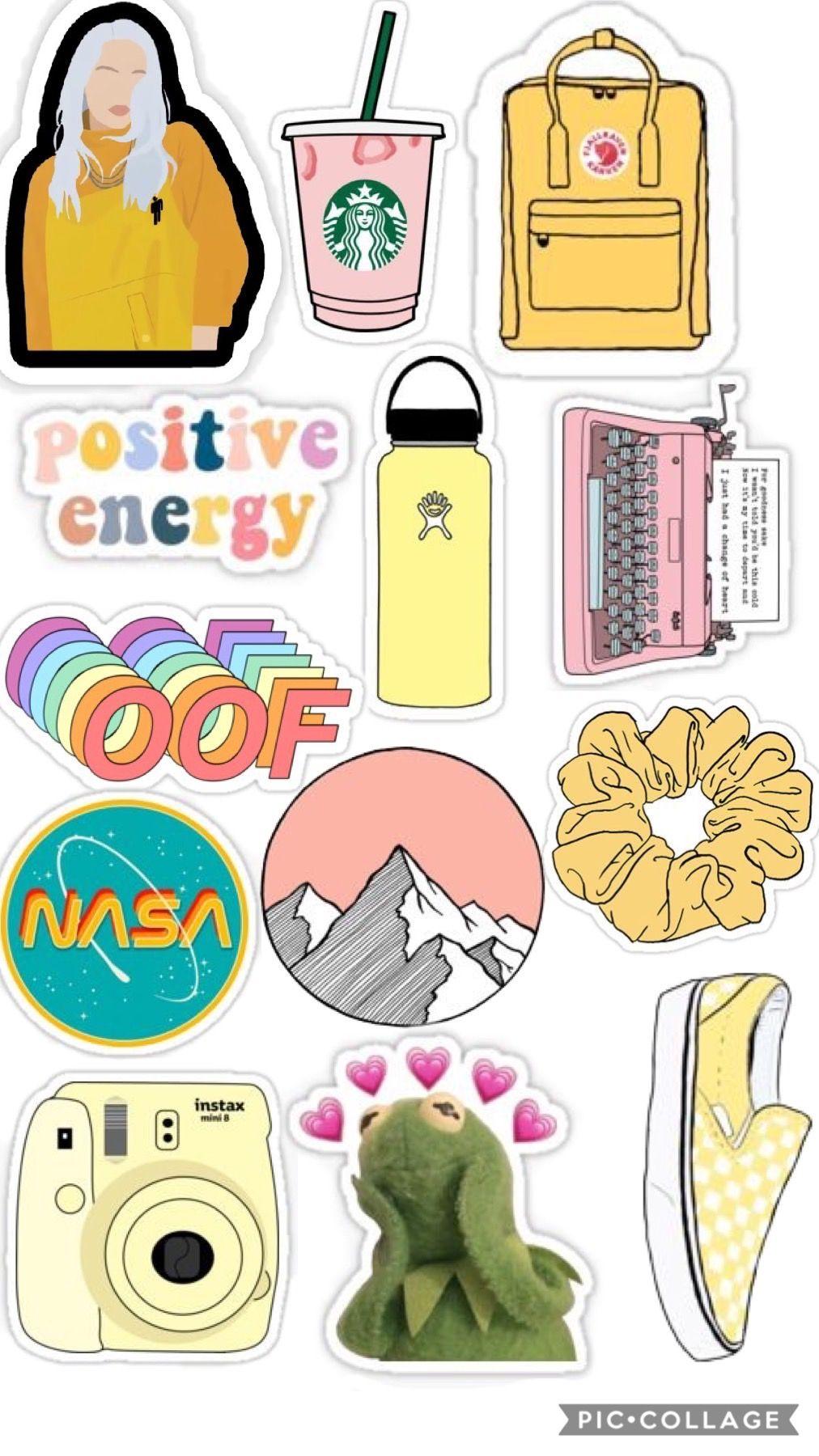 Vsco Stickers Pinterest Lucy Pegatinas Bonitas Pegatinas Imprimibles Pegatinas