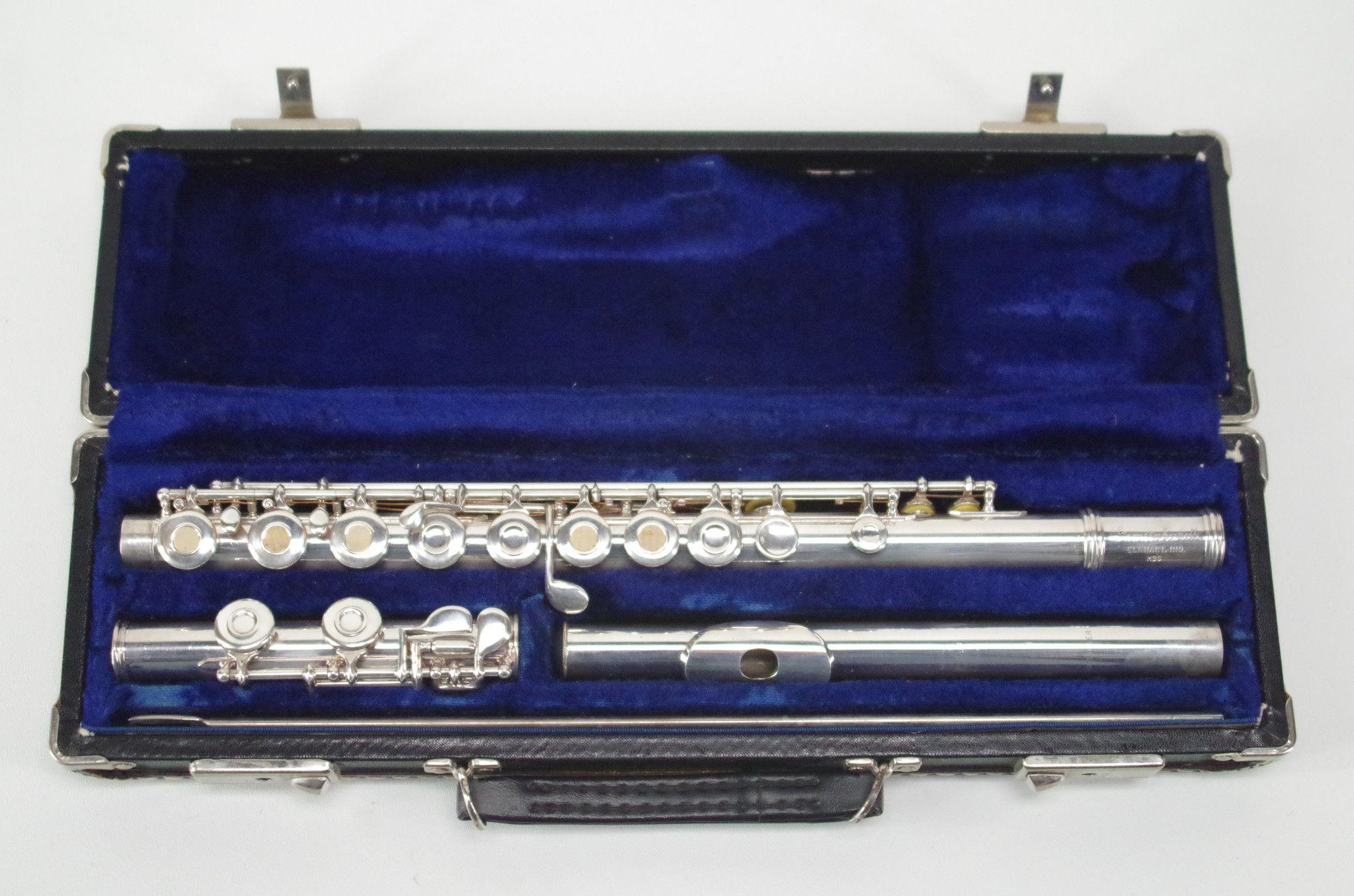 Gemeinhardt m3s openhole solid silver flute woodwind