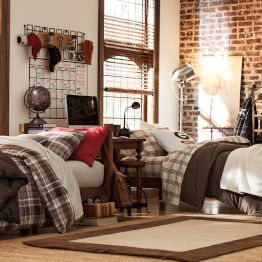Cool boys dorm rooms dorm dorm room and room ideas for Cool college bedroom ideas