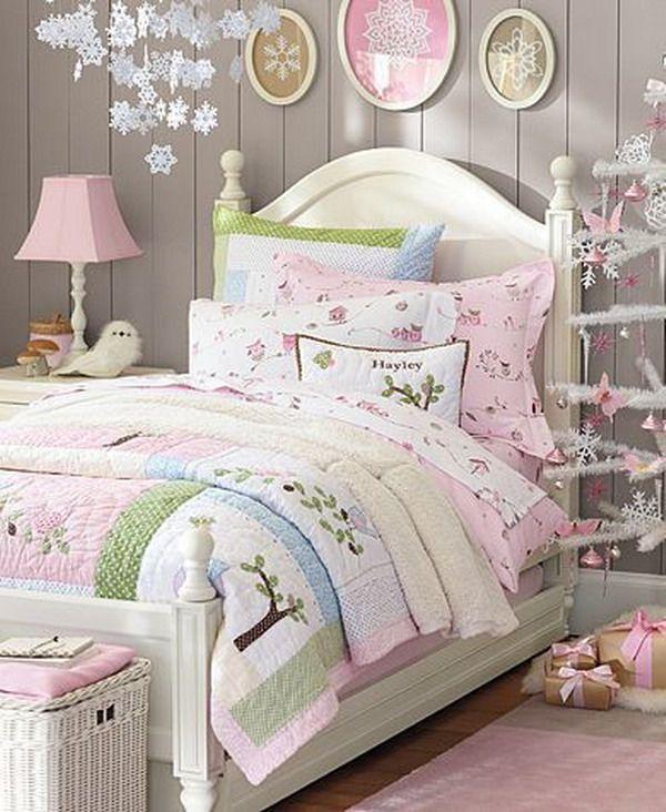 Dormitorios infantiles con estilo shabby chic deco - Decoracion habitacion infantil nina ...
