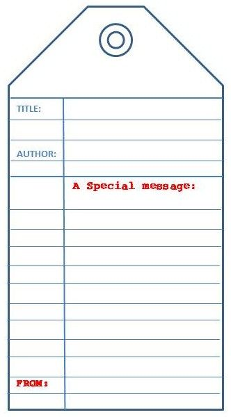 library book tag_My Little Bookcase u2026 Pinteresu2026 - library card template