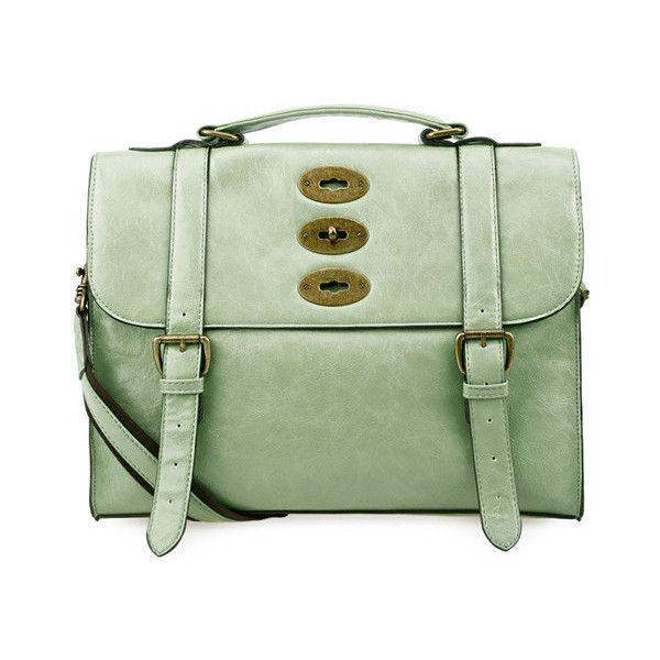 Best Green Vintage Cambridge Satchel 2 815 Thb Found On 400 x 300