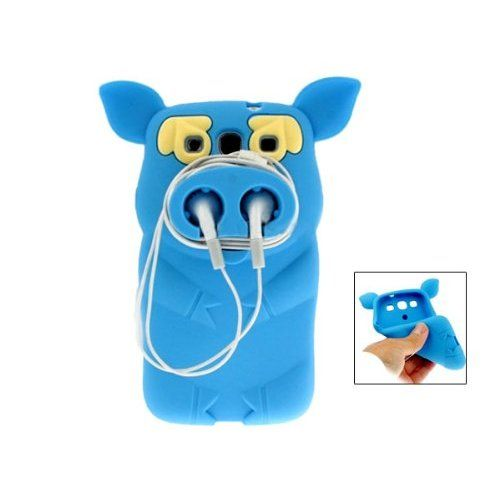 Amazon.com: Silicone Cute Pirate Pig Case Cover Skin for Samsung Galaxy S3 i9300: Cell Phones & Accessories