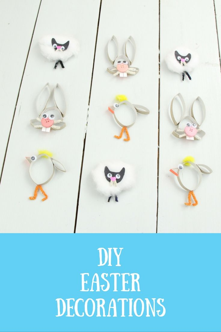 Cutest Diy Easter Decorations Ever Toilet Paper Roll Craft Diy