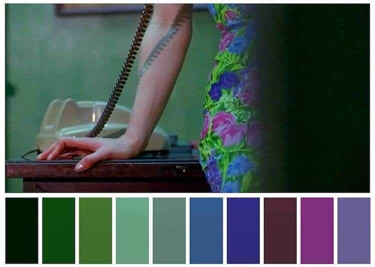 """Resultat d'imatges per a """"el color en wong kar-wai"""""""