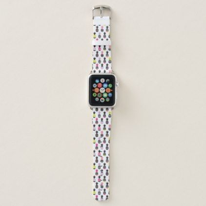 Trendy Pineapple Pattern Apple Watch Band trendy gifts