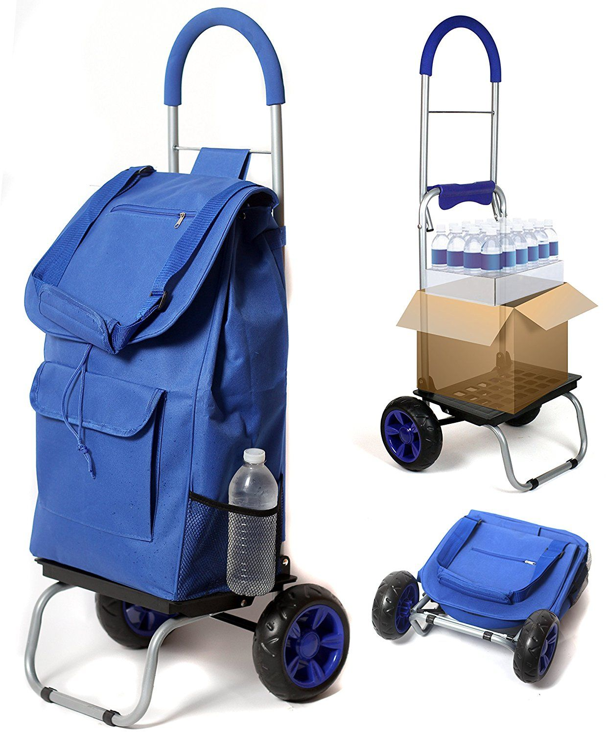 Folding Ping Carts Great For Dorms Apartments Seniors And City Living