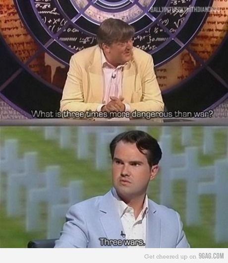 British humor, no doubt.