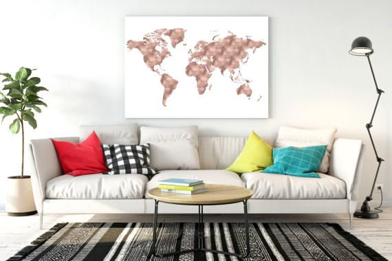 Rose gold world map copper gold world map world map printable large rose gold world map copper gold world map world map printable large world map world map gumiabroncs Gallery