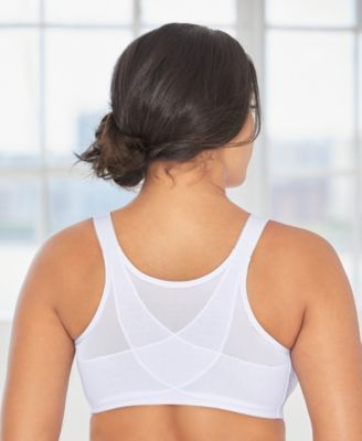 4cc2662d26e Glamorise Women s ComfortLift Front Close Lace Posture Back Support Bra   1202 - Tan Beige 50C